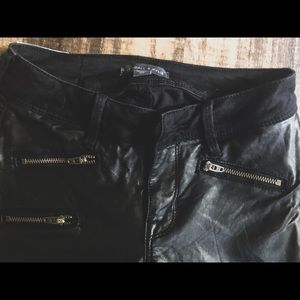 Kendall & Kylie Jeans - Kendall and Kylie Denim & Leather Jeans